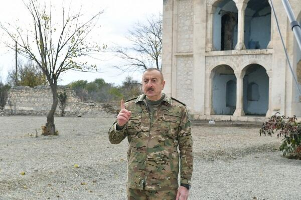 Master plan of Aghdam will be presented - Ilham Aliyev