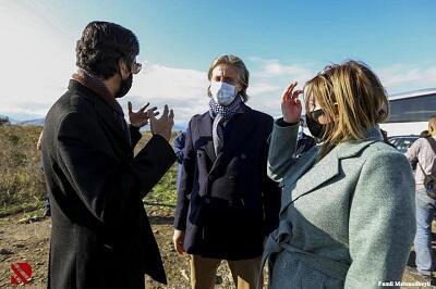 Al Jazeera ambassador visit to Fuzuli -
