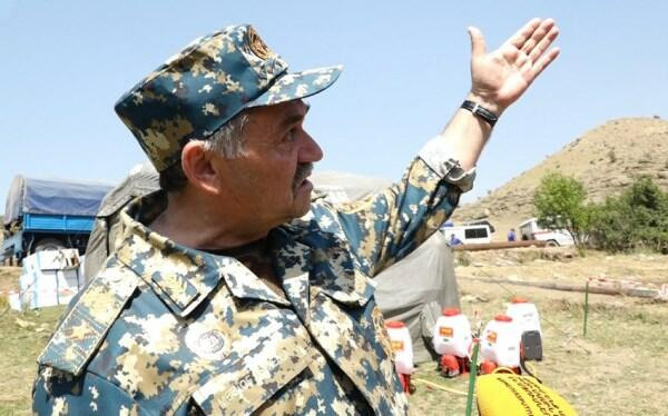 """Erməni general """"dözmədi"""", ürəyi partladı"""