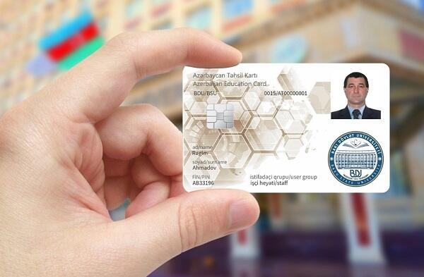 BDU-nun işçi heyətinə smart Təhsil kartı təqdim edildi