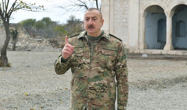 The enemy has more than 10 000 fugitives - Aliyev