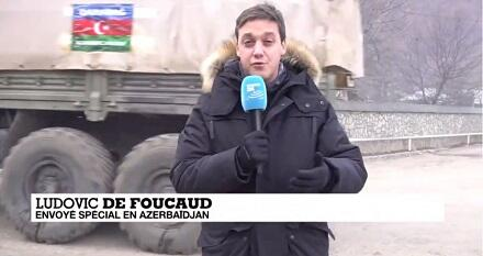France 24 TV channel films report on Azerbaijan's Kalbajar