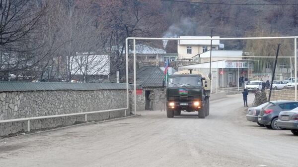 Azerbaijani army entered Kalbajar -