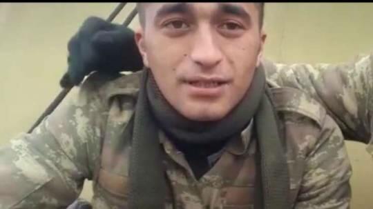 İtkin düşən əsgərimiz sağ tapıldı - Video