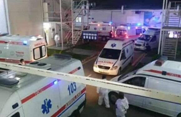 ÜST: Reanimasiyalar doludur, insanlar ölür