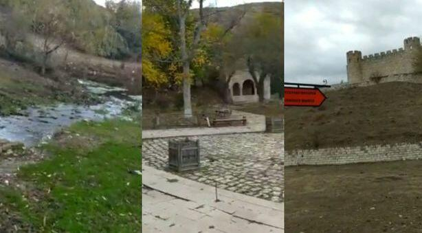 Ağdam Şahbulağının yeni görüntüsü - Video