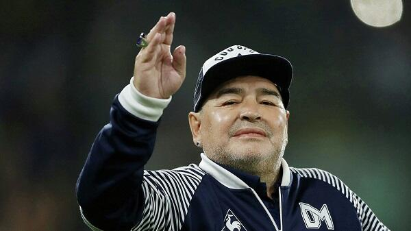 Argentinians pay tribute to football legend Maradona