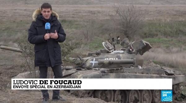 """""""Frans-24"""" Füzulidən reportaj hazırladı"""