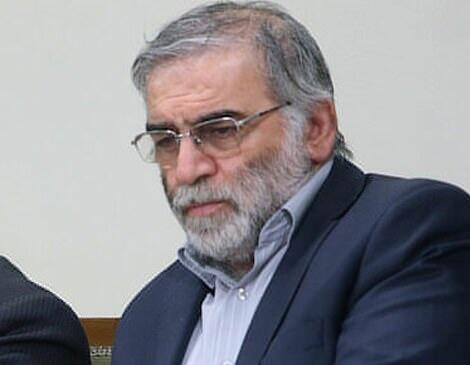 Suspects in the murder of an Iranian scientist -
