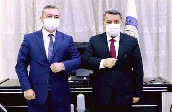 Şok: Özbəkistan rəsmiləri PKK-çılarla görüşdü - Foto