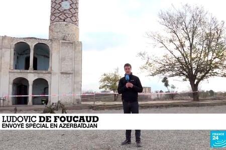 Frans-24 telekanalının Ağdamdan yeni reportajı - Video