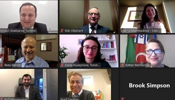Азербайджанцы Канады провели встречу с главой МИД