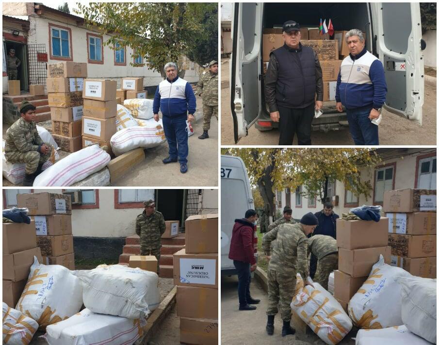 Ordumuza Rusiyadan yardım gəldi - Foto
