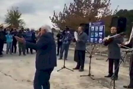 İbrahimov oxudu, Aqil Abbas rəqs etdi - Video