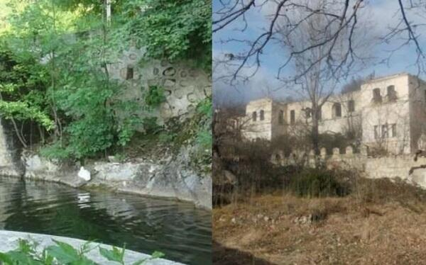 Armenians destroyed a park in Shusha -