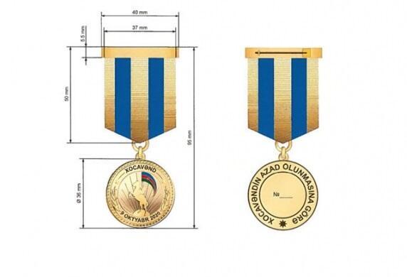 """""""Xocavəndin azad olunmasına görə"""" medalı necə taxılacaq?"""