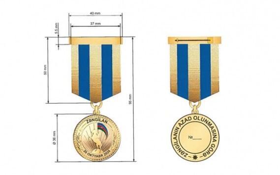 """""""Zəngilanın azad olunmasına görə"""" medalı kimlərə veriləcək?"""
