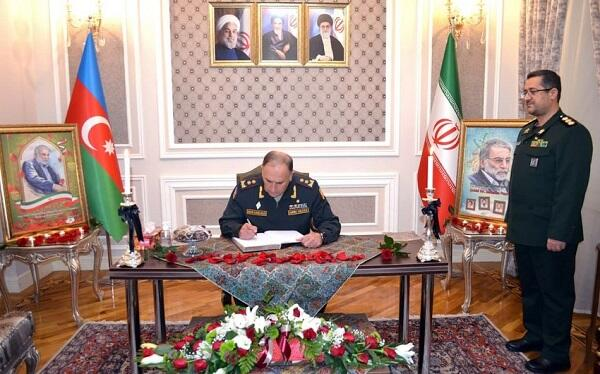 Azerbaijan MoD expressed condolences to Iran