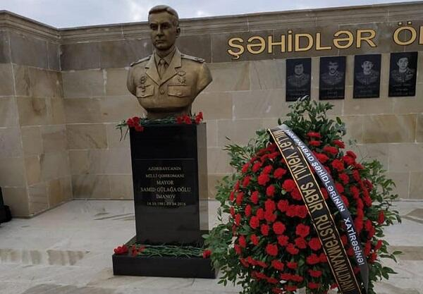 Milli Qəhrəmanların adına xatirə parkı salındı - Foto