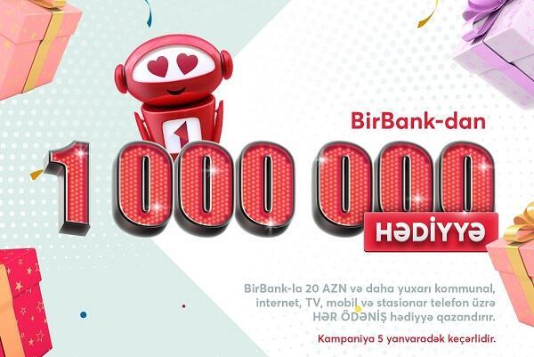 BirBank istifadəçiləri hədiyyələr qazanacaq