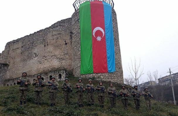 Azərbaycan Ordusunda şəhidlərin xatirəsi anıldı - Video