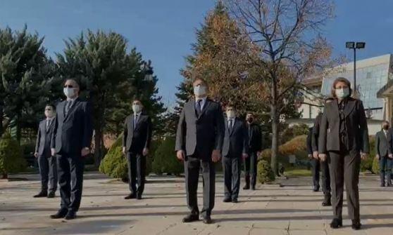 Ankarada şəhidlərimiz yad edildi - Foto
