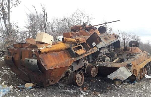 Nəriman BTR-i düşmən PDM-nə belə çırpdı – Foto