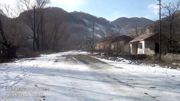 Kəlbəcərin Alıbəyli kəndi - Video