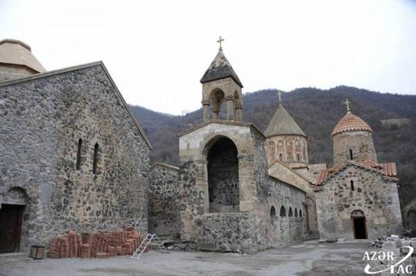 Russian peacekeepers brought Armenians to Khudavan