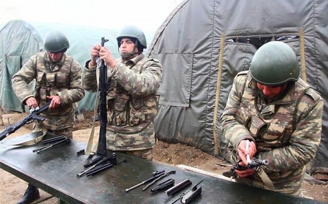 Orduda səmti müəyyənetmə yarışları keçirilir