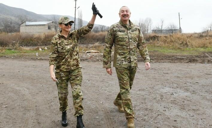 President and I Lady are at the liberated lands -