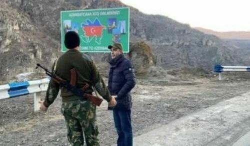 Two Armenians crossed into Azerbaijan