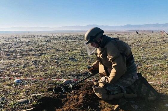Azad olunan ərazilərdə daha 137 mina aşkarlandı