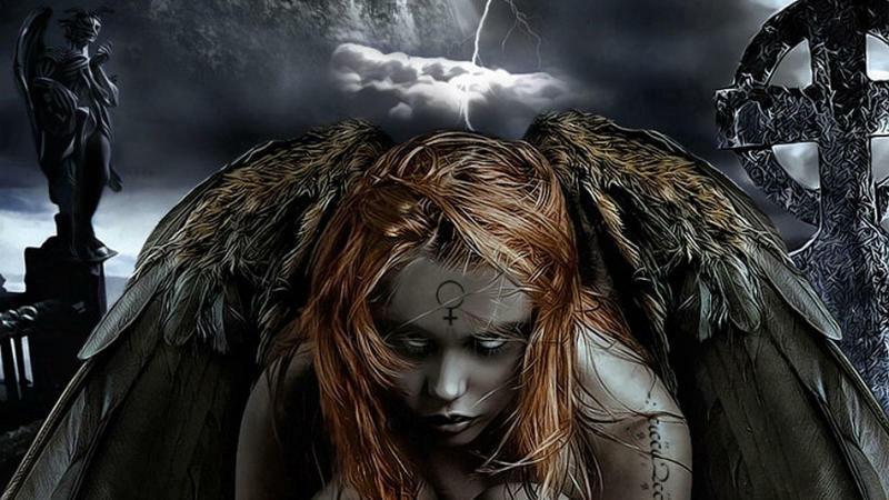 Ruhları çağıran füsunkar gözəl lənətləndi