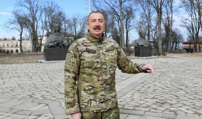 Date of resettlement of Shusha residents ... - Aliyev