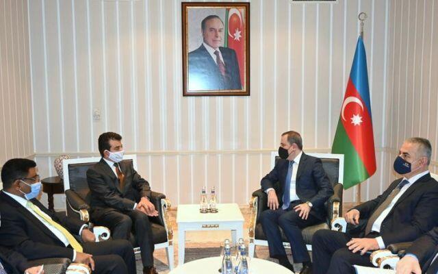 Jeyhun Bayramov met with the Director General of ISESCO