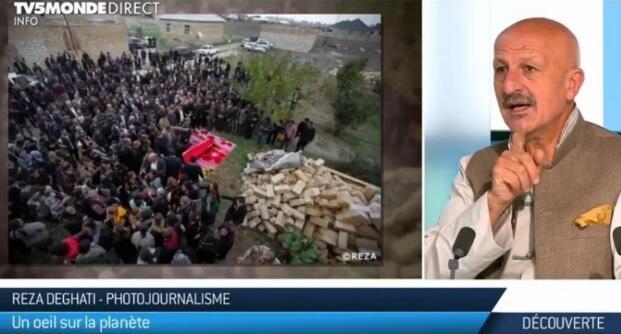 Дегати о зверствах армян в эфире французского ТВ
