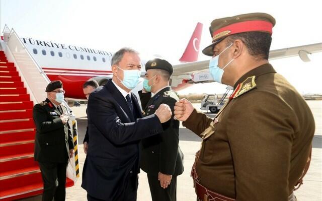 Hulusi Akar went to Baghdad -