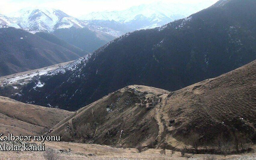 Nadirkhanli village of Kalbajar region -