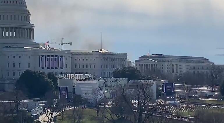 "Iran ""destroyed"" the US Congress building -"