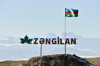 Zəngilanın Qaragöz kəndi - Video