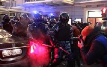 Shocking clashes in Russia: the police were beaten -
