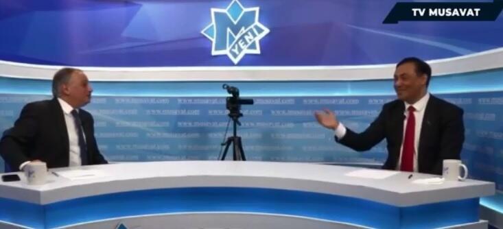Nəsirov-Əliyev debatı: Övladın müharibəyə niyə getməyib? - Video