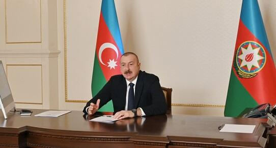 Ilham Aliyev shares a post on the 8 March -