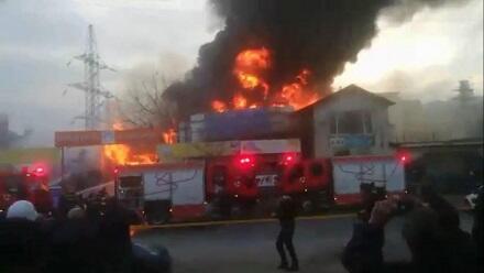 Rusiyada dəhşətli olay: 4 nəfər sexdə yanaraq öldü