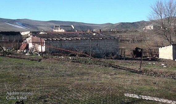 Ağdamın Yeni Qaralar kəndi - Video