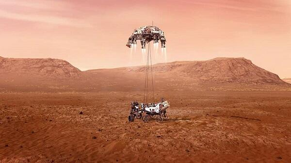 NASA conducted the second test of the helicopter on Mars