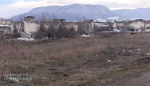 Taghibeyli village of the Aghdam region –