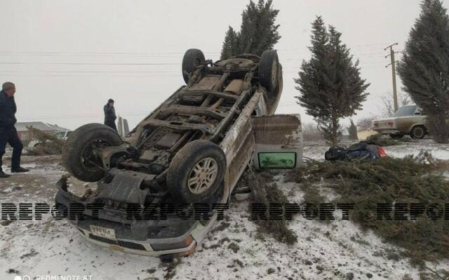 Cəlilabadda ağır qəza: sürücünün övladı öldü
