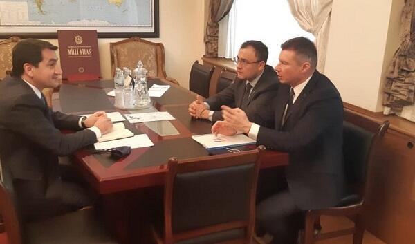 Hajiyev met with the Deputy FM of Ukraine
